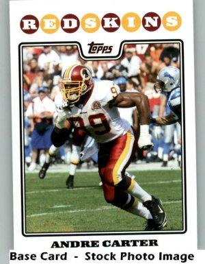 ANDRE CARTER 2008 TOPPS #216 Washington Redskins