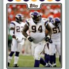 PAT WILLIAMS 2008 TOPPS #198 Minnesota Vikings