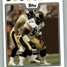 JAMES HARRISON 2008 TOPPS #241 Pittsburgh Steelers