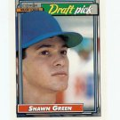 1992 Topps O-Pee-Chee Shawn Green sports cards baseball popular MLB Blue Jays