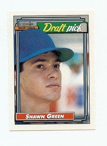 1992 Topps O-Pee-Chee Shawn Green sports cards baseball popular MLB Blue Jays