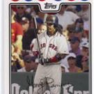 2008 Topps Manny Ramirez #BOS3 Boston Red Sox Major League Baseball MLB Cards