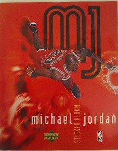 1998 Michael Jordan Sticker Album Collection Random Basketball sports cards golf