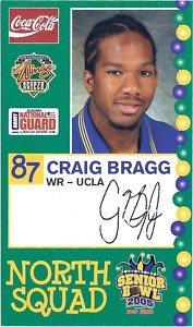2005 Senior Bowl Craig Bragg Ucla Bruins sports cards football