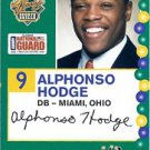 2005 Senior Bowl Alphonso Hodge Miami Ohio sports cards football