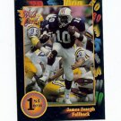 1991 Wildcard James Joseph Auburn Tigers sports cards football