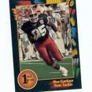 1991 Wildcard Moe Gardner Illinois sports cards football