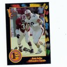1991 Wildcard Rob Selby Auburn Tigers sports cards football