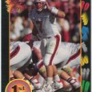 1991 Wildcard Browning Nagle Louisville Cardinals sports cards Football QB