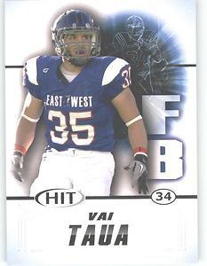 2011 Sage Hit Vai Taua sports cards football popular NFL Seahawks Nevada Plays