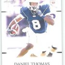 2011 Sage Hit Artistry Daniel Thomas Sports cards Football Kansas State popular