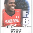 2011 Sage Hit Charles Clay Sports cards Football Popular NFL Miami plays Hot