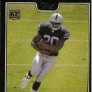 2008 Topps Black Darren McFadden sports cards football popular NFL Raiders Play