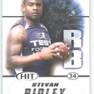 2011 Sage Hit Stevan Ridley Tigers New England sports cards football popular NFL