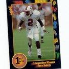 1991 Wildcard Fernandus Vinson North Carolina State NFL sports cards football