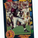 1991 Wildcard William Thomas Texas A&M sports cards football