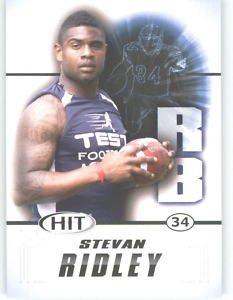 2011 Sage Hit Stevan Ridley LSU Tigers sports cards NFL
