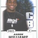 2011 Sage Hit Aaron Williams Texas Longhorns sport cards Football NFL popular