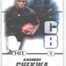 2011 Sage Hit Chimdi Chekwa Ohio State sports cards Football NFL popular plays
