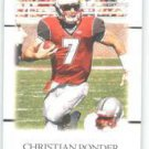 2011 Sage Hit Artistry Christian Ponder FSU sports card