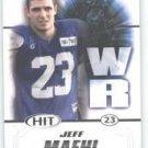 2011 Sage Hit Jeff Maehl Oregon Ducks sports cards NFL