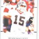 2011 Sage Hit Artistry Ryan Mallett Arkansas sport card
