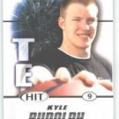 2011 Sage Hit Kyle Rudolph Notre Dame Irish sports cards football popular NFL