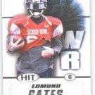 2011 Sage Hit Edmund Gates Abilene Christian sports cards football popular NFL