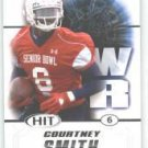 2011 Sage Hit Courtney Smith South Alabama sports cards football popular plays