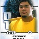 2011 Sage Hit Stephen Paea Oregon State Beavers cards