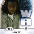 2011 Sage Hit Julio Jones Alabama Crimson Tide sports cards football popular NFL