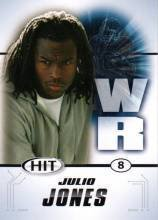 2011 Sage Hit Julio Jones Alabama Crimson Tide sports cards football popular NFL