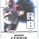 2011 Sage Hit Mario Fannin Auburn Tigers sports cards football popular NFL plays