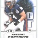 2011 Sage Hit Anthony Castonzo Boston College cards