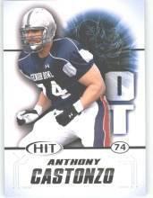 2011 Sage Hit Anthony Castonzo Boston College cards