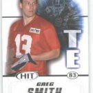 2011 Sage Hit Greg Smith Texas Longhorns sports cards football popular NFL plays