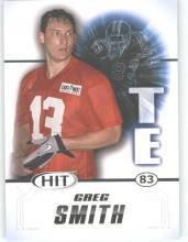 2011 Sage Hit Greg Smith Texas Longhorns sports cards football popular NFL plays