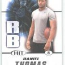 2011 Sage Hit Daniel Thomas Kansas State sports cards