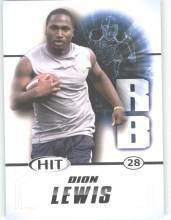 2011 Sage Hit Dion Lewis Pittsburgh Panthers sports cards Football popular NFL