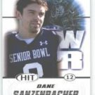 2011 Sage Hit Dane Sanzenbacher Ohio State Sports Cards Football popular NFL