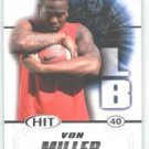 2011 Sage Hit Von Miller Texas A&M Aggies sports Cards football popular NFL play