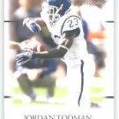 2011 Sage Hit Artistry Jordan Todman Uconn Huskies Card