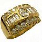 DIAMONDS 18K YELLOW GOLD RING