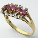 FANTASTIC RUBY AND DIAMOND RING