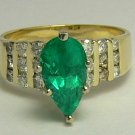 Standout! Colombian Emerald & Diamond Ring 2.54cts