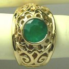 Incredible Craftmanship! Colombian Emerald Ring 2cts