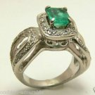 WOW!!! COLOMBIAN EMERALD & DIAMOND RING 1.86 CTS