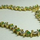 Colombian Emerald & Diamond Tennis Bracelet .70pts