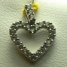 HEART PENDANT DIAMONDS