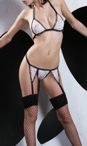 ~ Irresistible Halter Style Garter Set ~
